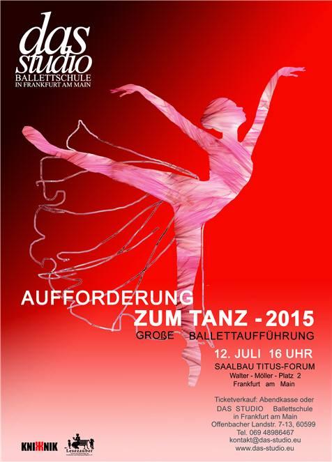 Aufforderung zum Tanz Ballett, Modern, Jazz, Neo-Klassik Kinderballettaufführung.