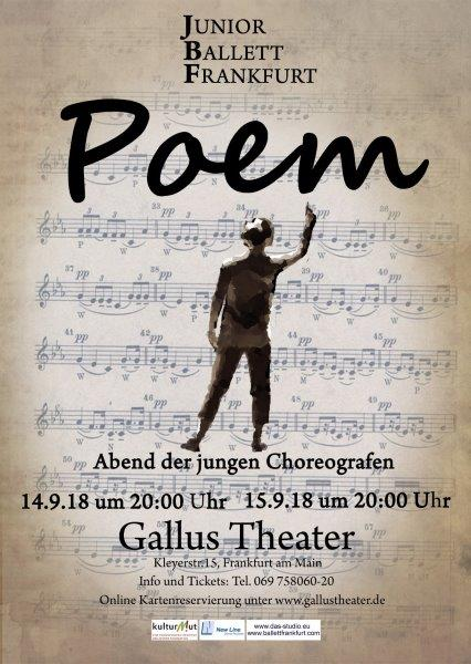 Junior Ballett Frankfurt Poem